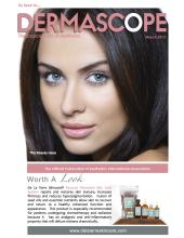 De La Terre Skincare featured in March 2012 Dermascope