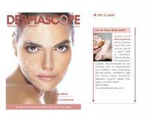 De La Terre Skincare® Gemstone Massage Wands featured in Dermascope Encyclopedia of Aesthetics.