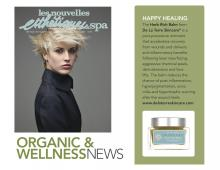 Herb Rich Balm - Vital Repair featured in February 2012 Les Nouvelles and Esthetiques