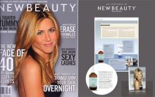 De La Terre Skincare® Herb Rich Mists as featured in New Beauty Magazine.