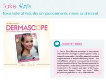Dermascope September Issue Cancer Support