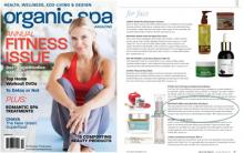 De La Terre Skincare® Herb Rich Balm Vital Repair as featured in Organic Spa Magazine.